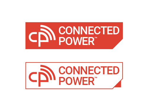 Both Versions Of The Connected Power Logo